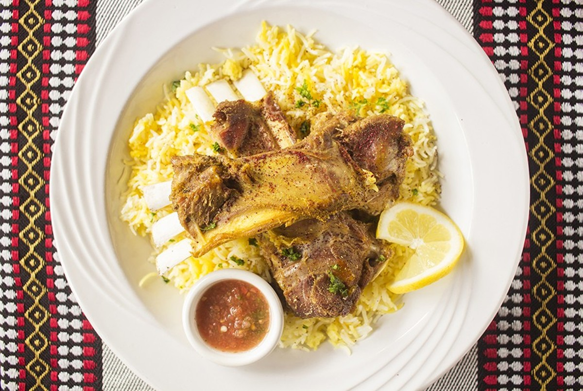 Mandi, featuring smoky lamb marinated in special sauce served with basmati rice.