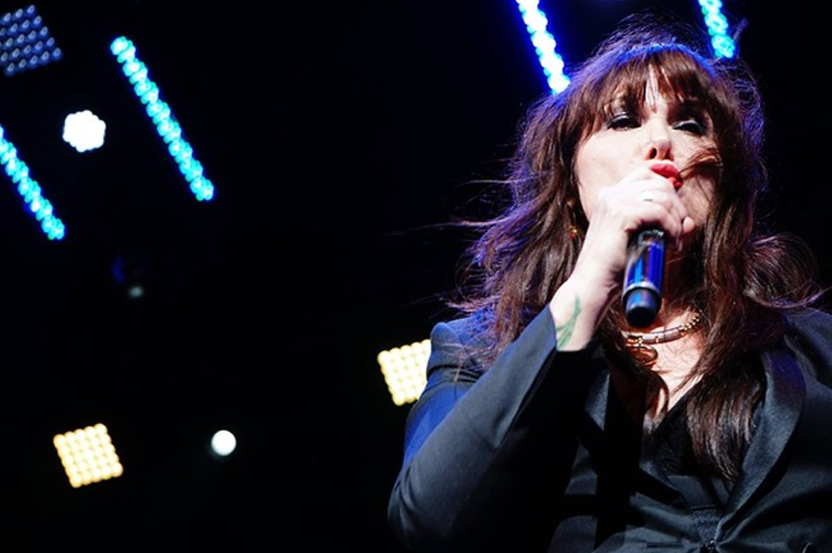 "Ann Wilson: ""When you have hard things happen in your personal life and then you go up on stage, you know, you get through it."""