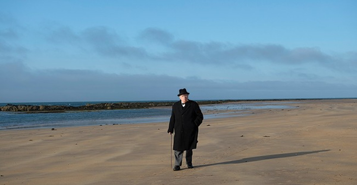 Winston Churchill (Brian Cox) is haunted by past mistakes as he finalizes plans for D-Day.