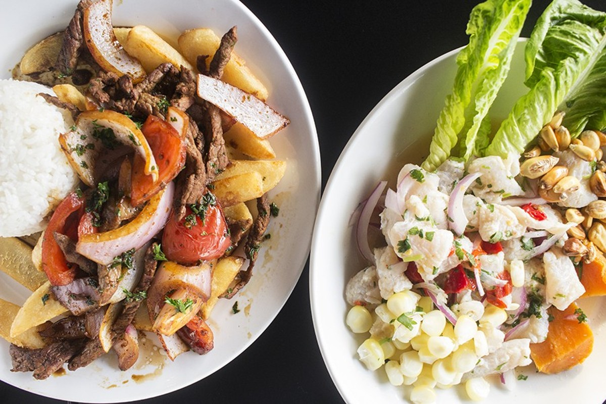 Yes, you should eat gas station ceviche -- and  lomo saltado too.