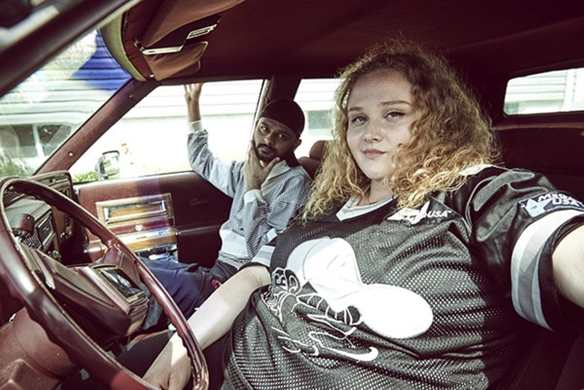 Danielle Macdonald​ has a dream .... and a hip-hop song on her heart.