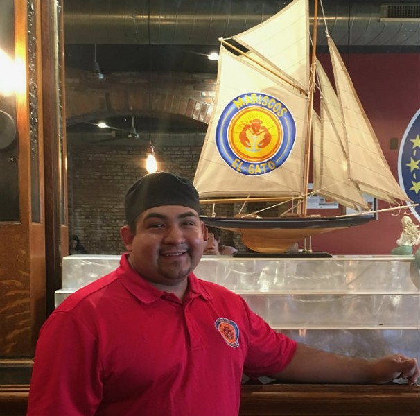 "Pedro ""el Gato"" Diaz is the heart and soul of Mariscos el Gato. - CHERYL BAEHR"