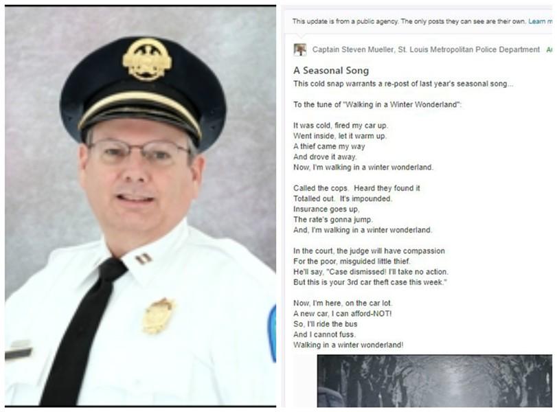 Captain Steven Mueller. - VIA SLMPD/NEXTDOOR