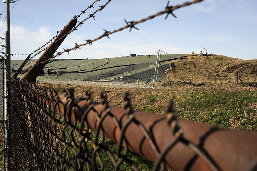 "West Lake Landfill is known as ""St. Louis' dirtiest secret."" - KELLY GLUECK"
