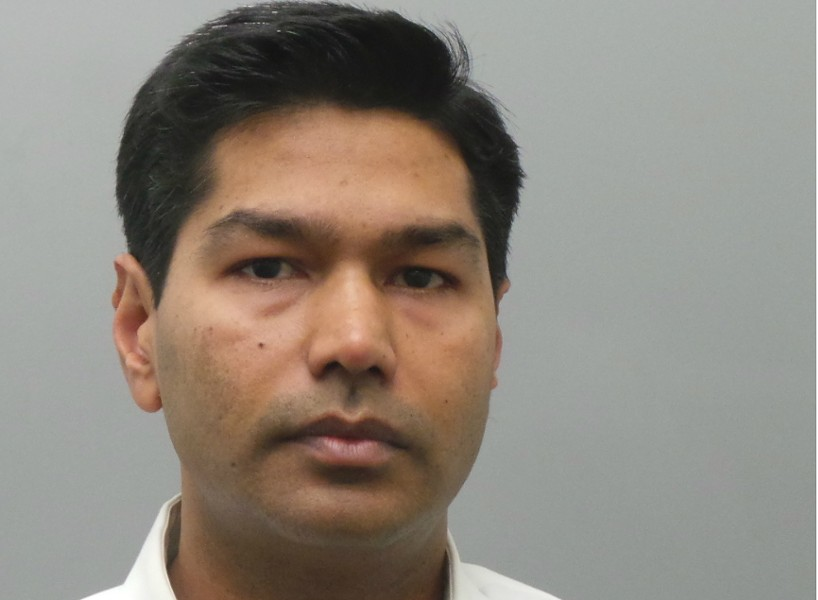Dr. Abhishek Jain is charged with sexual abusing patients. - IMAGE VIA ST. LOUIS COUNTY POLICE