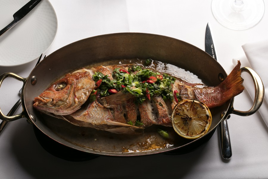 WHOLE-ROASTED RED SNAPPER | SUZY GORMAN