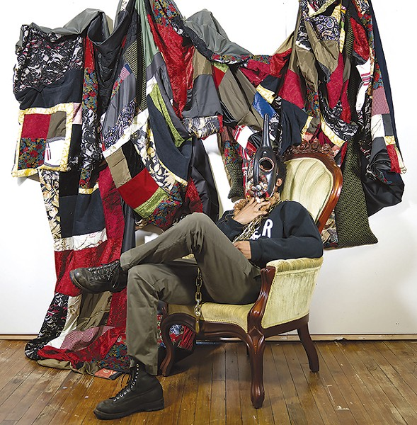Quilts and assemblage become a meditation on the passage of a people and the years. - BASIL KINCAID