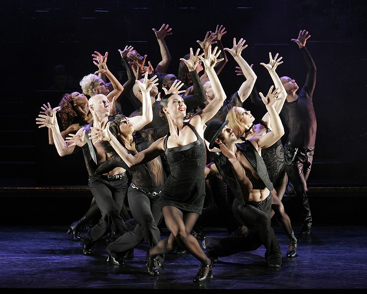 If you like Fosse hands, you should go to Chicago. - JEREMY DANIEL