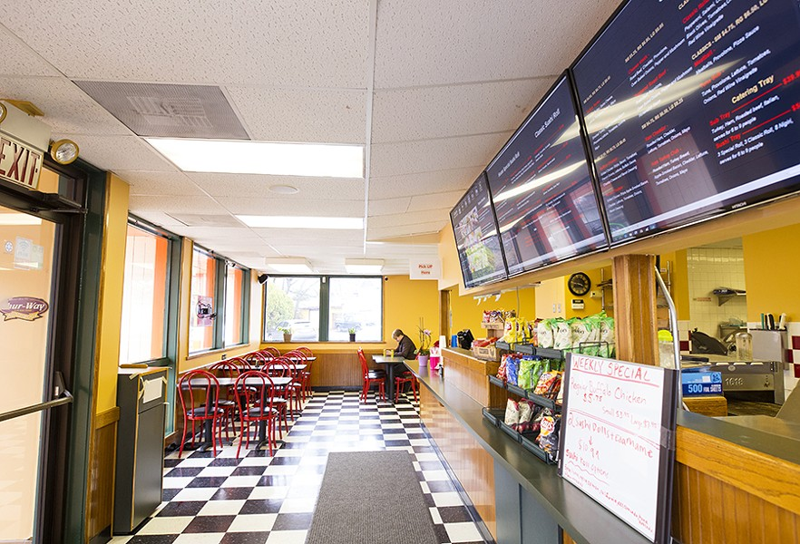 Customers may not be surprised to learn the restaurant is located in an old Quizno's. - MABEL SUEN