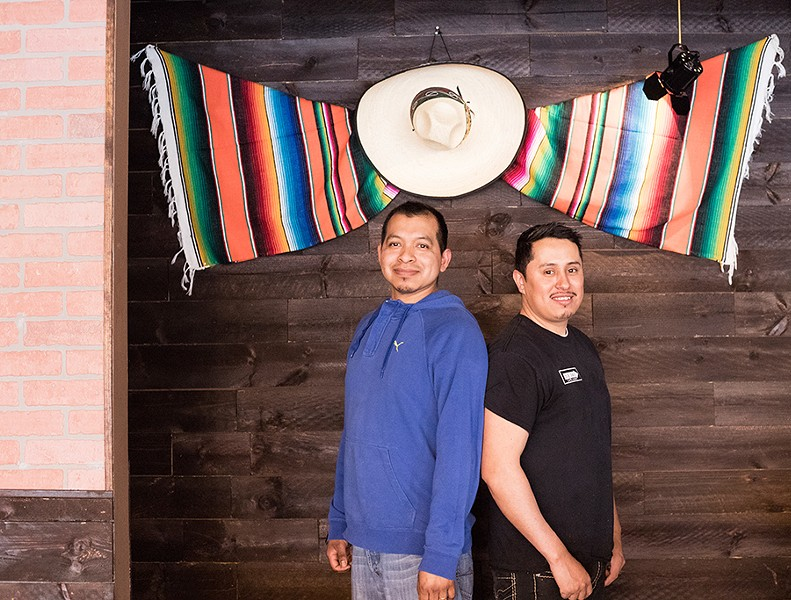 Co-owners (and long-time friends) Jorge Salazar and Mauricio Garnica. - MABEL SUEN