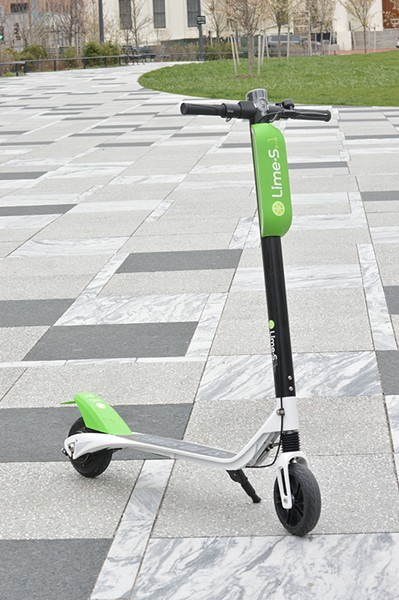 Scooters and e-bikes will also be provided in the near future. - MEGAN ANTHONY