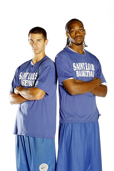 Kevin Lisch, left, and Tommie Liddell III. - BILL BARRETT