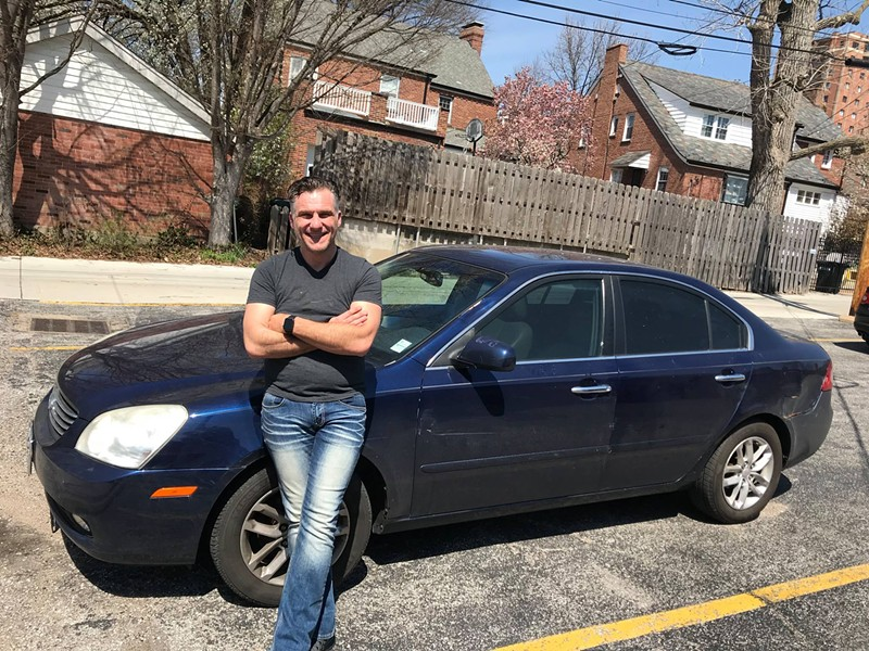 St. Louis Uber driver Greg Treifenbach dishes on crazy local nightlife in his new book Uberville: St. Louis Uber Stories. - COURTESY OF GREG TREIFENBACH