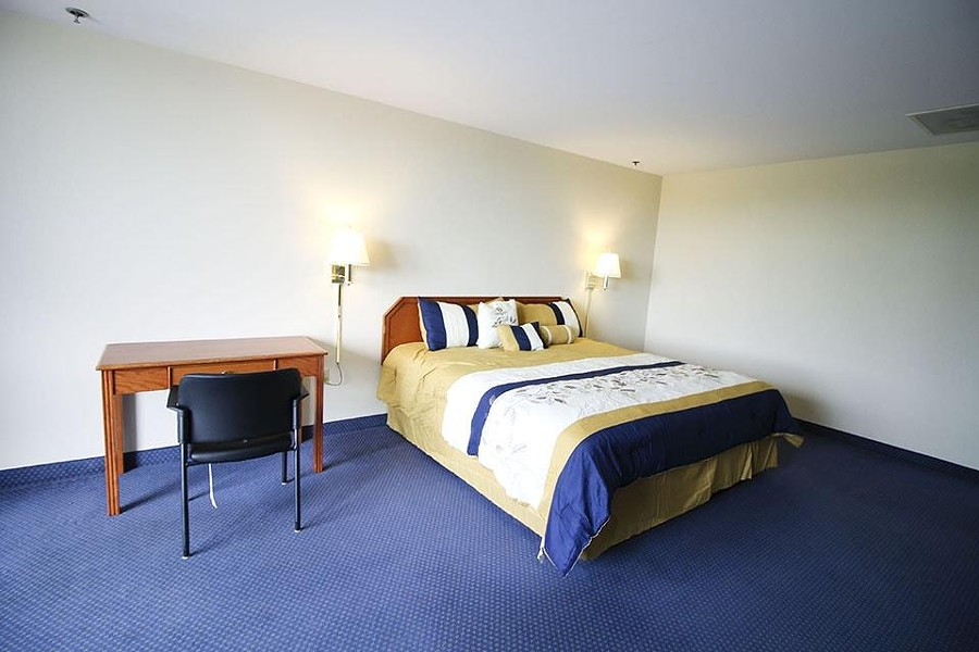 It's not all pink champagne on ice, but amenities in this unorthodox staycation spot include hotel-style rooms that are equipped with private bathrooms, TV and internet. - COURTESY OF SLU'S CENTER FOR VACCINE DEVELOPMENT