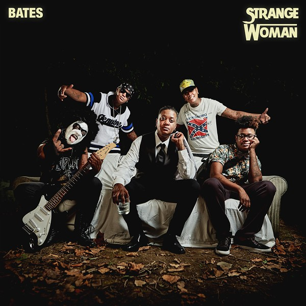 Bates. - ALBUM ART FOR STRANGE WOMAN.