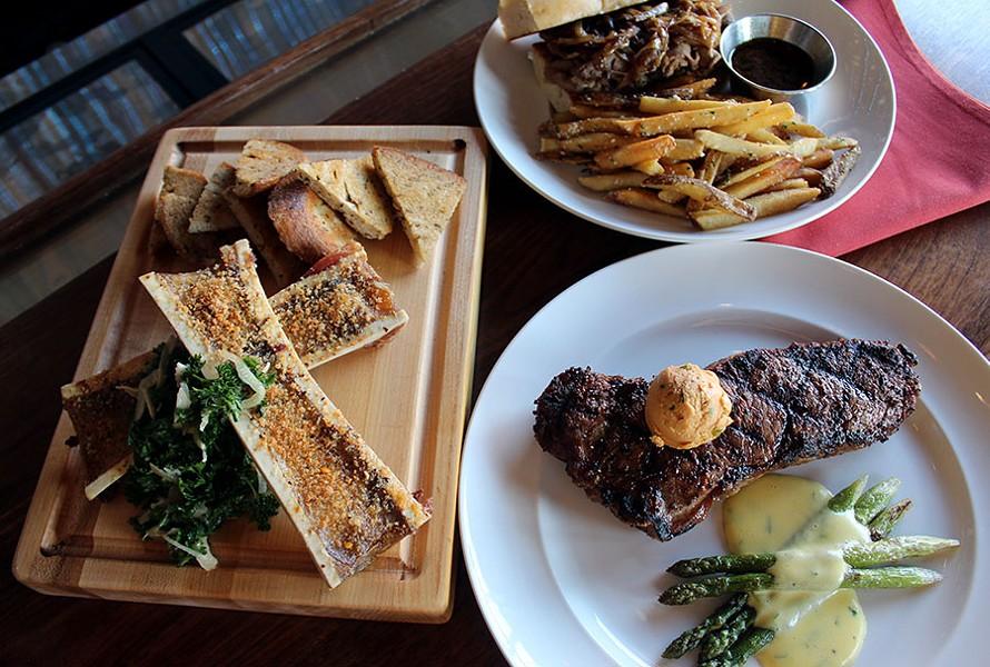 Hamilton's Steakhouse gets their steaks from Iowa Premium Black Angus. - LEXIE MILLER