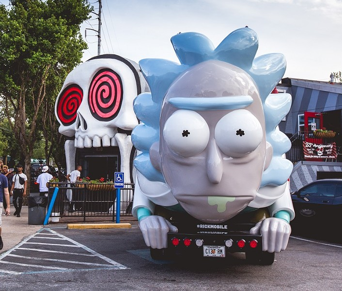 Rick Sanchez, comin' *burrrrp* straight at ya! - COURTESY OF ADULT SWIM