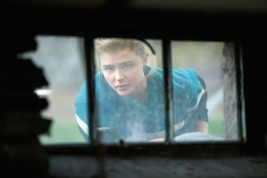 Moretz turns the slight story into a small portrait of courage. - ©2017 BEACHSIDE FILMS, LLC