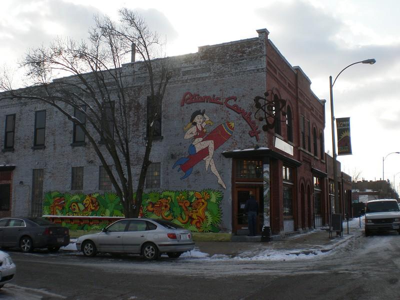 Atomic Cowboy is a nightlife hub in the Grove. - FLICKR/PAUL SABLEMAN