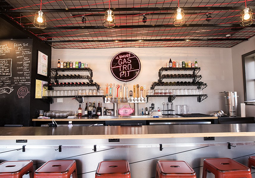 The space is tiny, but offers both dine-in seating and a thriving takeout operation. - MABEL SUEN