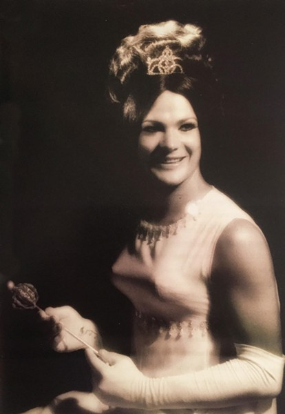 The very first Miss Gay America, Norma Kristie, in 1973. - COURTESY OF NORMA KRISTIE