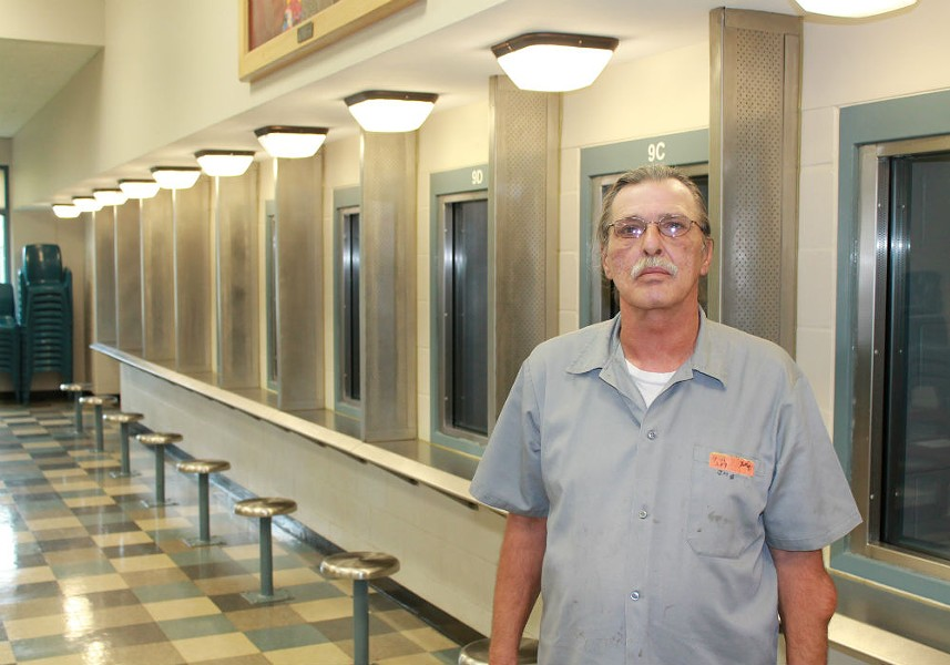 Jeff Mizanskey at the Jefferson City Correctional Center. - RAY DOWNS