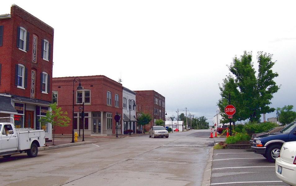 Downtown Wentzville. - WIKIMEDIA