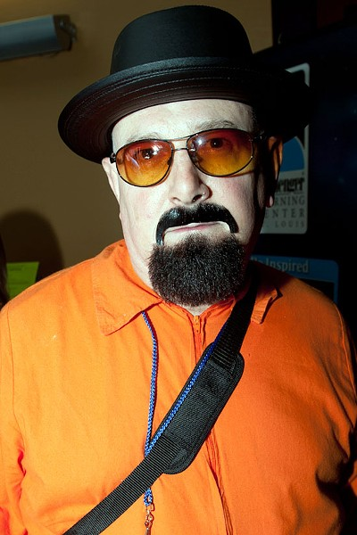 Walter White of Breaking Bad.