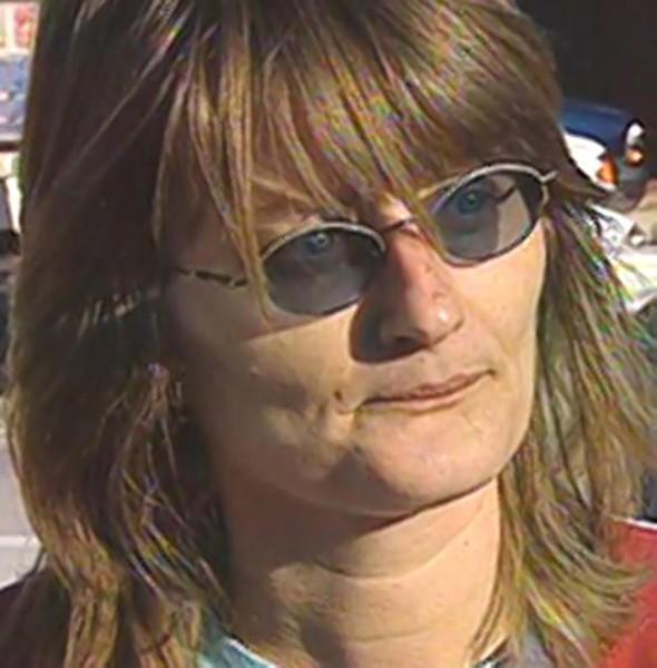 Sandra McElroy, better known as Witness 40 in the Ferguson grand jury. - KMOV (CHANNEL 4), VIA THE SMOKING GUN