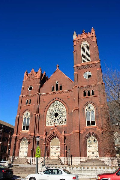 Bethlehem Lutheran Church. - PHOTO BY CHRIS NAFFZIGER