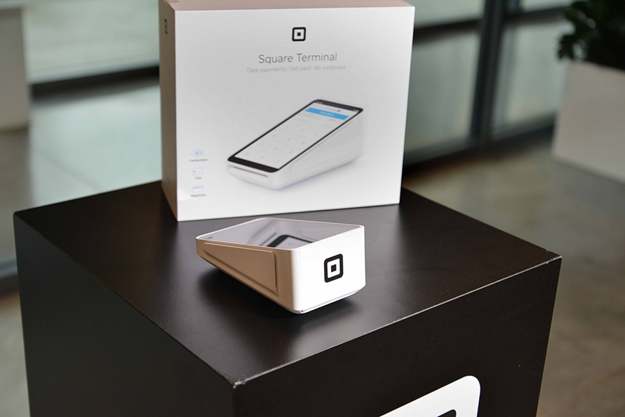 The Square Terminal is a sleek payment processor that offers versatility for merchants. It accepts online and in store payments, is cordless and Wi-Fi enabled. - TOM HELLAUER