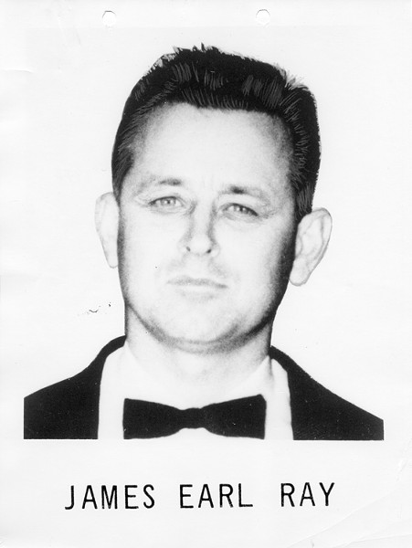 """James Earl Ray, one of the most notorious """"Top Ten"""" fugitives of all time hailed from St. Louis (Alton) but was placed on the list by the Memphis F.B.I. following the assassination of Martin Luther King Jr."""