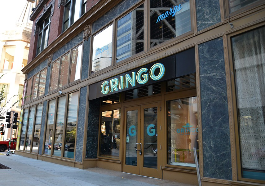 Gringo sits on the corner of Wash Ave and N 7th St. near the convention center downtown. - TOM HELLAUER