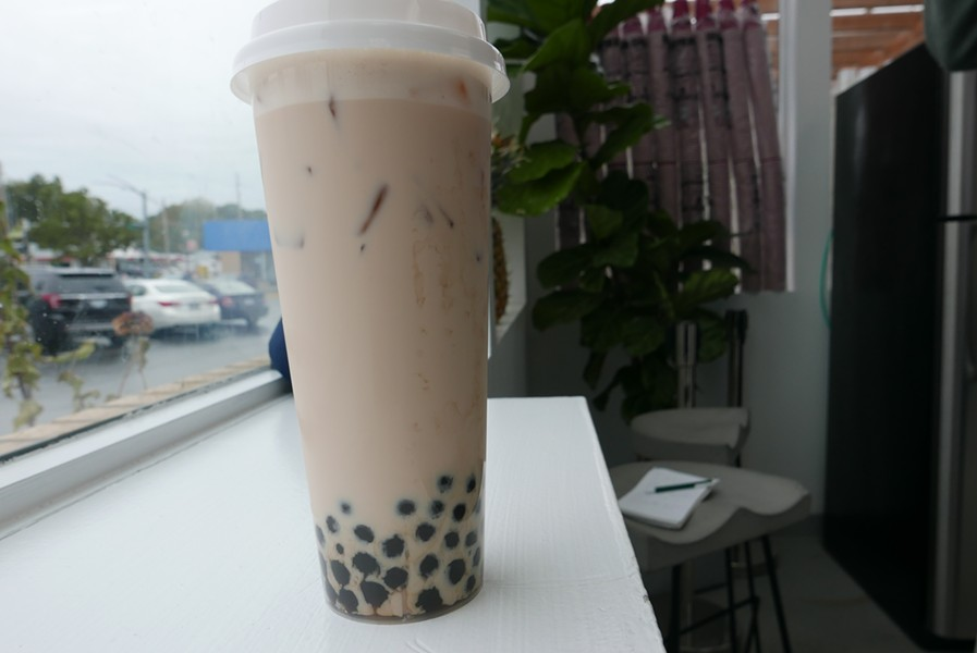 The Cube Classic Milk Tea is a popular choice. - DESI ISAACSON