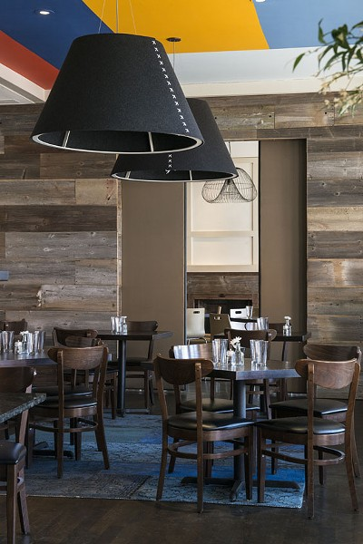 The dining room at Avenue. | Corey Woodruff