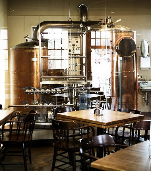 Inside Six Row Brewing Company - JENNIFER SILVERBERG