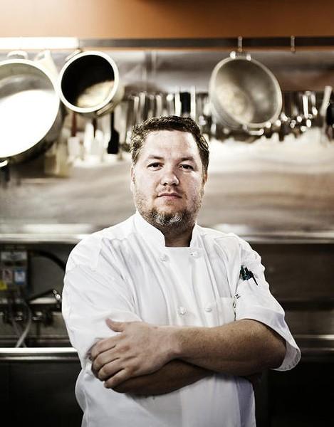 Salt owner and chef Wes Johnson - JENNIFER SILVERBERG