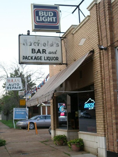 Ignore the sign. This is Claudia's Pub. - ROBIN WHEELER