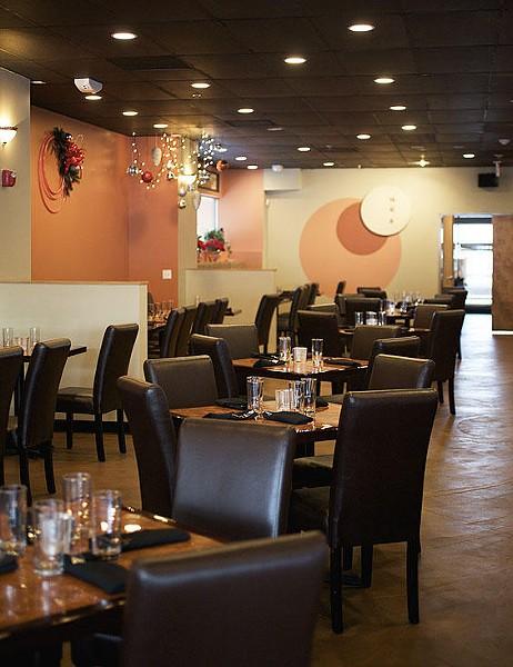 Ginger Bistro's dining room - JENNIFER SILVERBERG