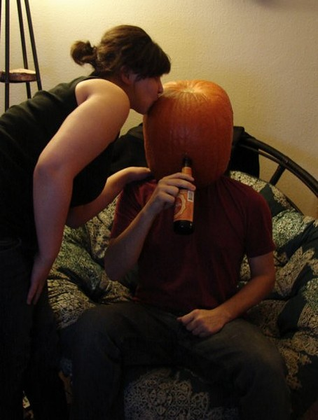 """Girls like pumpkins who like Schlafly Pumpkin Ale."""