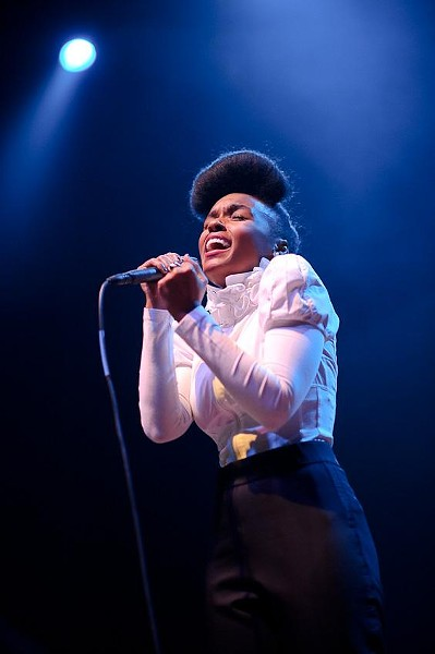 Janelle  Monáe at the Pageant - TODD OWYOUNG