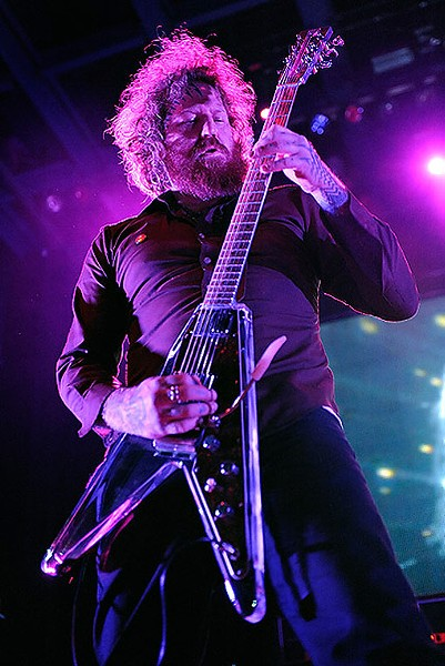 Brent Hinds of Mastodon. See more photos from last night's show. - PHOTO: TODD OWYOUNG