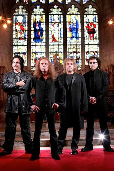 Dio's most recent band, Heaven and Hell