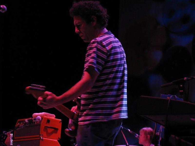 Ira Kaplan of Yo La Tengo at the Pageant, 1/24/10 - ANNIE ZALESKI