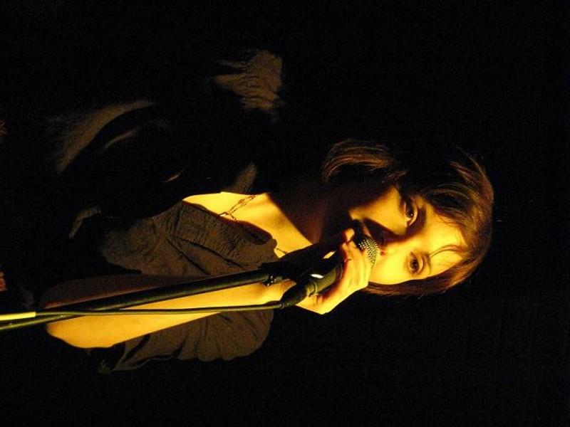 Amy Cole of the Rural Alberta Advantage - ANNIE ZALESKI