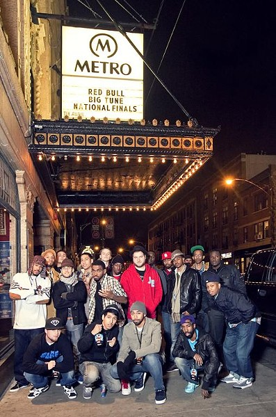 A photo of all the Red Bull Big Tune finalists - COURTESY OF TRIFECKTA