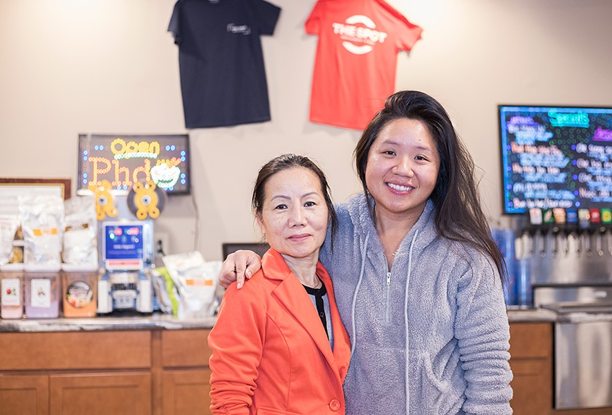 Chef/owner Lisa Pham and her daughter Kathi Pham, who serves as the restaurant's manager. - MABEL SUEN