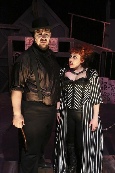 Zachary Allen Farmer and Sarah Porter. - JILL RITTER LINDBERG