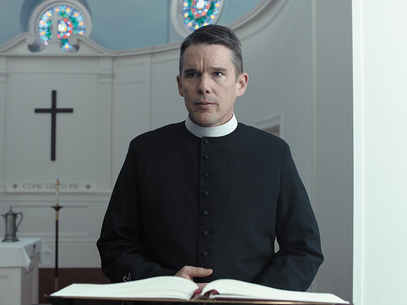 Ethan Hawke plays a troubled priest in First Reformed. - PHOTO COURTESY OF A24