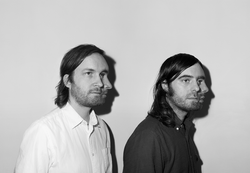 Ratatat will perform at the Pageant this Wednesday, September 9. - PRESS PHOTO VIA XL RECORDINGS